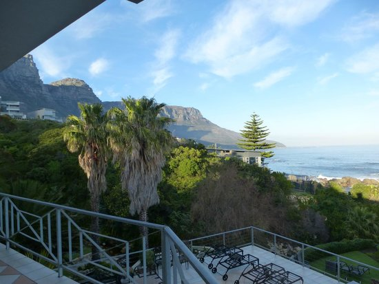 Ocean View House: Vista camera dal balcone