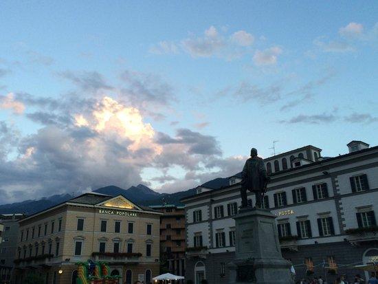 Grand Hotel della Posta: View from Piazza
