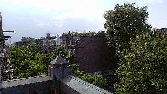 Hotel Van Gogh: Balcony view