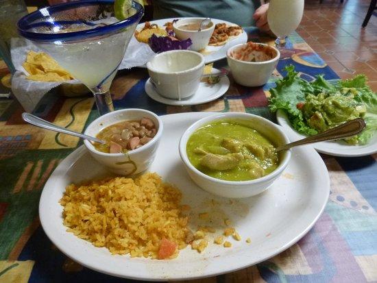 Little Hacienda Mexican Restaurant : Very spicy chile verde