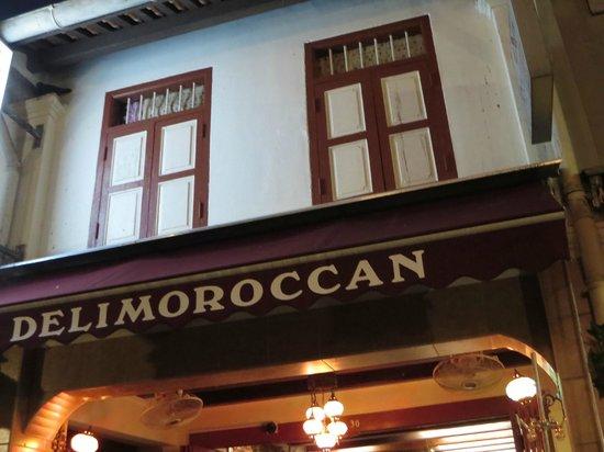 Deli Moroccan: Restaurant exterior