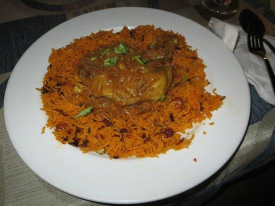 Deli Moroccan: Chicken biryani