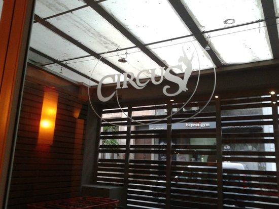 Circus Hostel & Hotel: Restaurante.