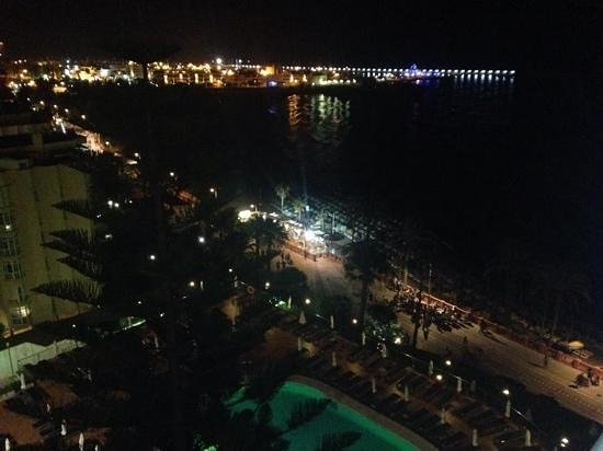 TUI Sensimar Riviera by MedPlaya: view from the balcony at night