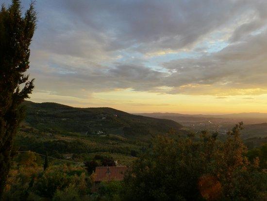 Casale Fontibucci: Abendstimmung