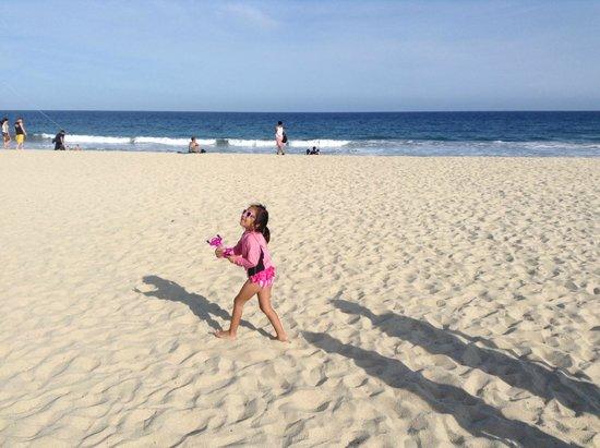 Royal Solaris Los Cabos: Playa limpia y muy segura