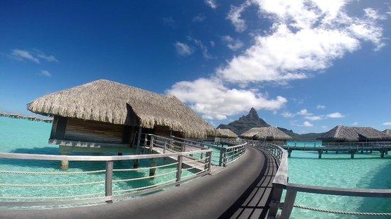InterContinental Bora Bora Resort & Thalasso Spa: View from the dock