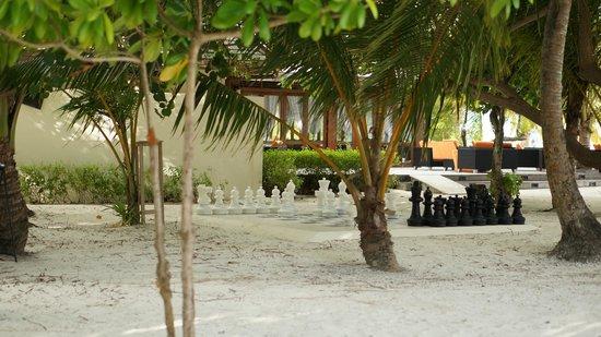 Meeru Island Resort & Spa : Chess Board