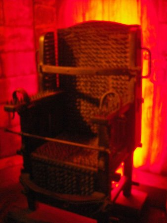 Torture Museum: Inquisitor Chair