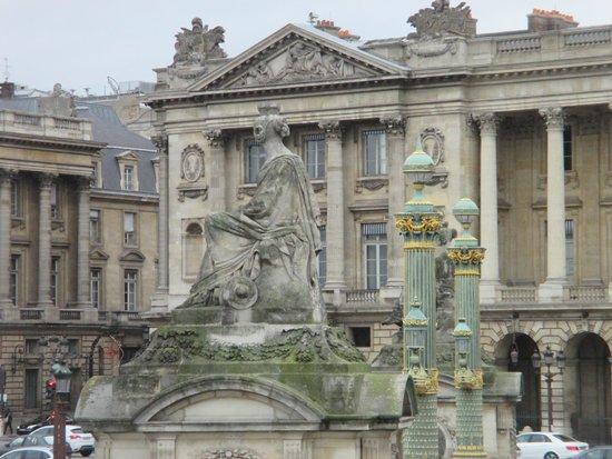 Jeu de Paume: ここからコンコルド広場が一望できます