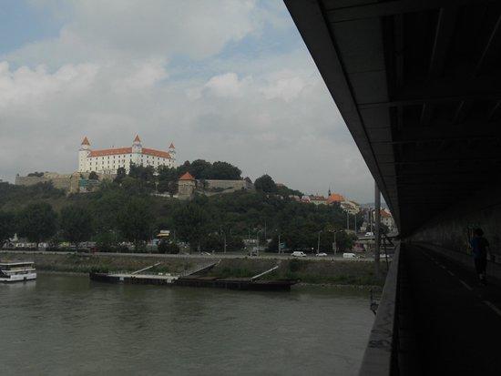 New Bridge (Novy Most): View of the Castle
