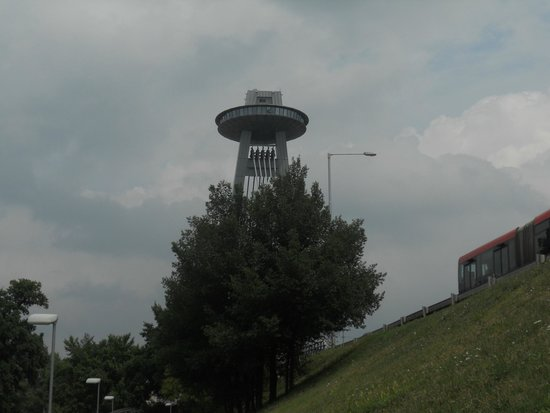 New Bridge (Novy Most): The tower