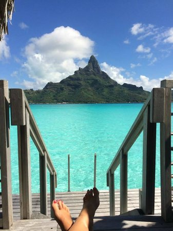 InterContinental Bora Bora Resort & Thalasso Spa : View from room