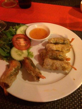 Yen's Restaurant: Spring roll osso