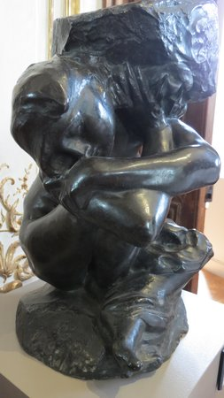 Musée Rodin : Caryatid Fallen Under Her Stone