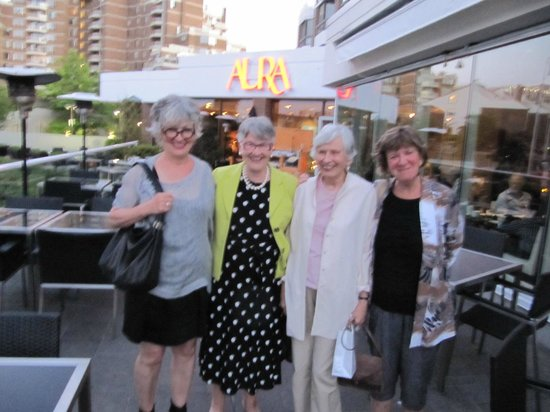 AURA waterfront restaurant + patio: Aura Photograph on the Patio