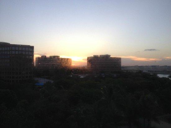 Hilton Miami Airport: Miami Airport - Sunset View