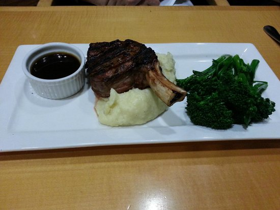 Orchards Restaurant & Bar: Grain Fed Rib Eye