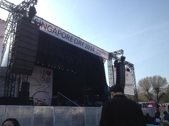 Millennium & Copthorne Hotels at Chelsea Football Club : Stage at Singapore Day