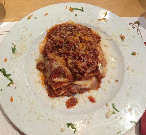Il Pizzaiolo : Lasagna di carne
