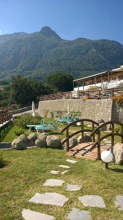 Resort Grazia Terme: Particolare del parco termale
