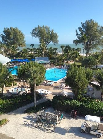 Casa Ybel Resort : view from our room