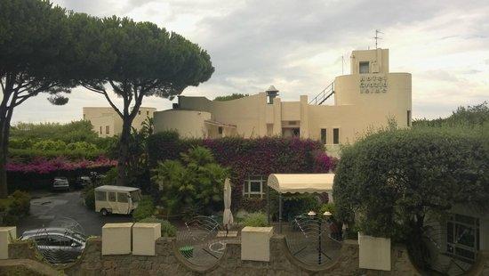 Resort Grazia Terme: Complesso centrale hotel