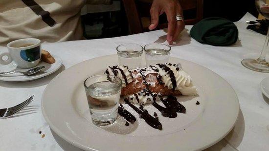 Trattoria Reggiano: Dessert