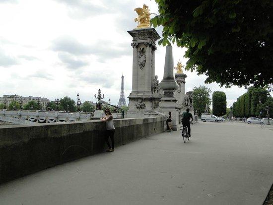 Pont Alexandre-III : detalhes