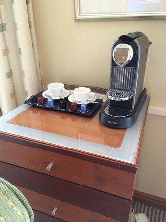 Radisson Blu Ridzene Hotel : Complimentary Nespresso coffee