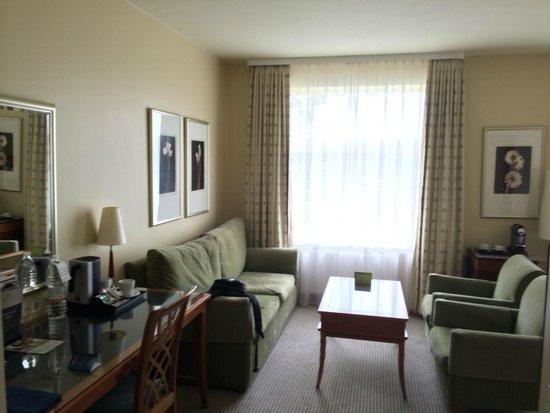 Radisson Blu Ridzene Hotel : Work area