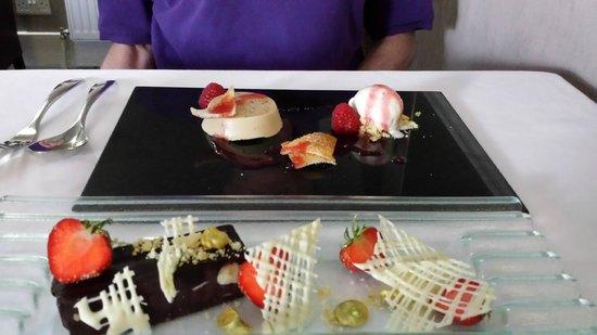 Chez Roux: Our desserts
