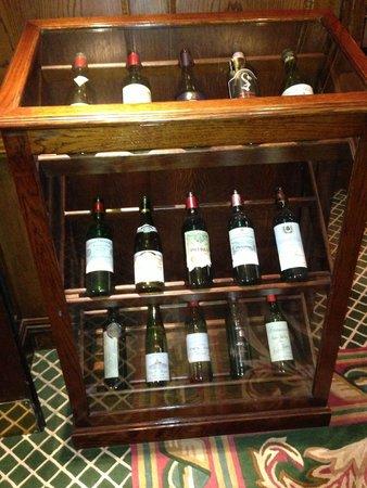 The Milestone Hotel : huge wine list