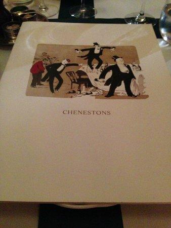 The Milestone Hotel : excellent restaurant