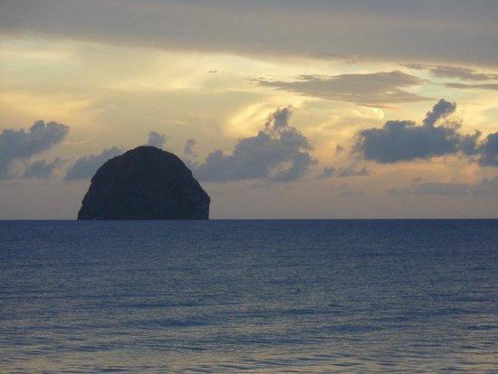 Diamant Beach: Vue