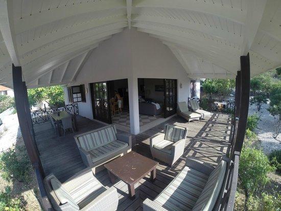 Blue Bay Curaçao Golf & Beach Resort: Varanda
