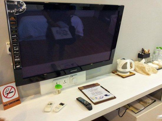 Jonker Boutique Hotel: TV
