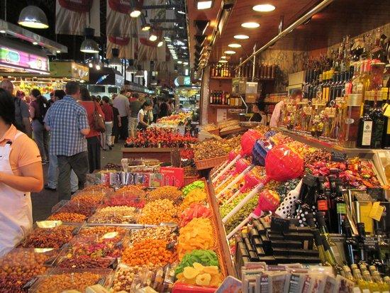 Las Ramblas : Un marché très tripant!