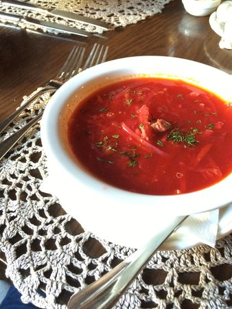 Chekhov : Borsch soup