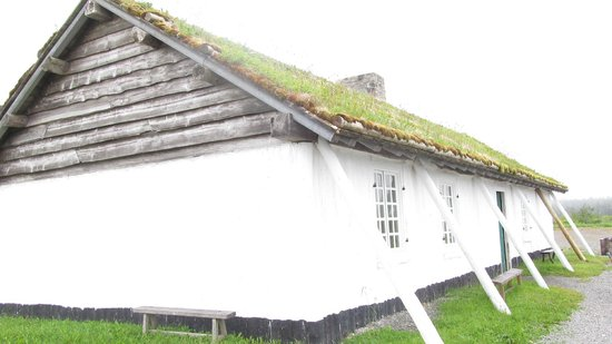 Fortress of Louisbourg National Historic Site: Dwelling near the entrance