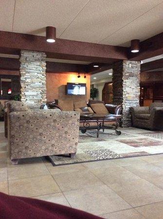 Ramada Fargo: lounging around