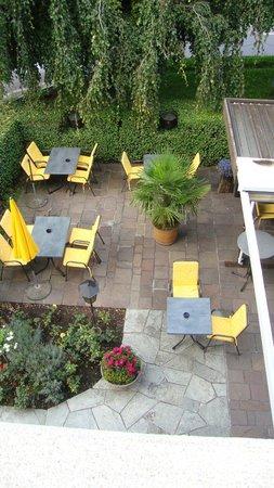 Hotel Restaurant Chartreuse: Vom Zimmer aus