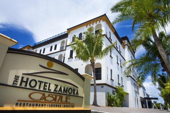 The Kimpton Hotel Zamora: Entry sign