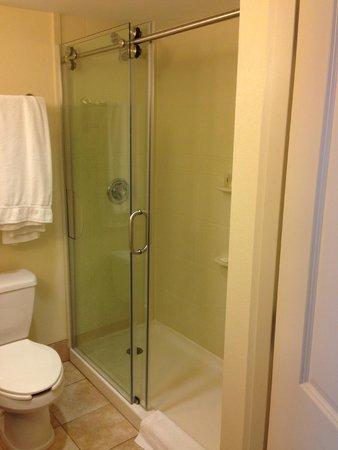 Holiday Inn Johnstown - Gloversville: Very clean bathroom