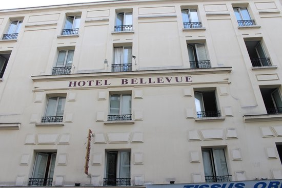 Hôtel Bellevue Paris Montmartre : Front