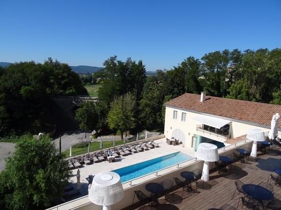 Le Couvent des Minimes Hotel et SPA L'Occitane : vue chambre