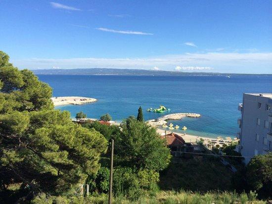 Radisson Blu Resort Split : Blick vom Balkon