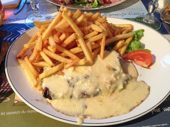Brasserie la marine: Bistecca al brie