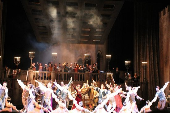 Hungarian State Opera House (Magyar Allami Operahaz) : Ромео и Джульетта