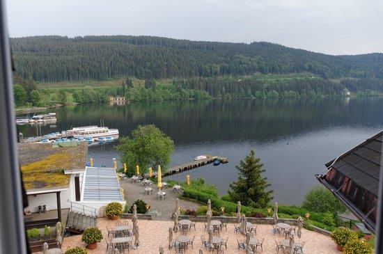 Treschers Schwarzwald Romantik Hotel: Aussicht aus Suite